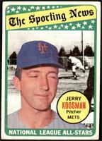 The Sporting News All Star Selection - Jerry Koosman [GOOD]