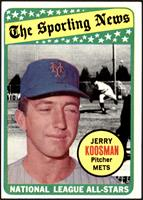The Sporting News All Star Selection - Jerry Koosman [EX]