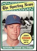 The Sporting News All Star Selection - Jerry Koosman [VG]