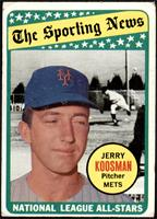 The Sporting News All Star Selection - Jerry Koosman [FAIR]