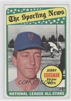 The Sporting News All Star Selection - Jerry Koosman [Poor to Fair]