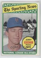 The Sporting News All Star Selection - Jerry Koosman