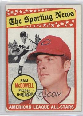 1969 Topps - [Base] #435 - Sam McDowell [Good to VG‑EX]