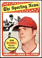 The Sporting News All Star Selection - Sam McDowell [NM+]