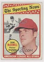 The Sporting News All Star Selection - Sam McDowell