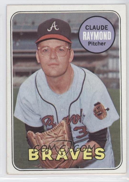 1969 topps base 446 claude raymond comc card for Claude raymond piscine
