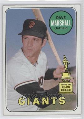 1969 Topps - [Base] #464.2 - Dave Marshall (Last Name White)