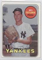 Mel Stottlemyre (Last Name in Yellow)