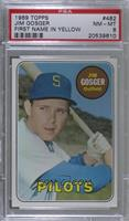 Jim Gosger (Yellow first name, position) [PSA 8 NM‑MT]