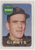 Gaylord Perry (Last Name in Yellow)