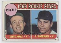 1969 Rookie Stars - Steve Jones, Ellie Rodriguez (Rodriquez) [Goodto…