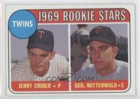 Jerry Crider, George Mitterwald (player names in yellow)