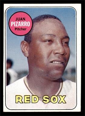 1969 Topps - [Base] #498 - Juan Pizarro [EX]