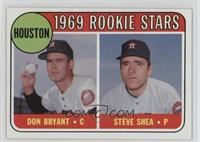 1969 Rookie Stars - Don Bryant, Steve Shea [Good to VG‑EX]