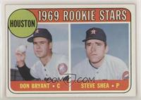 Astros Rookie Stars (Don Bryant, Steve Shea)