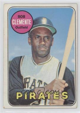 1969 Topps - [Base] #50 - Roberto Clemente [Good to VG‑EX]
