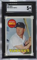 Mickey Mantle (Last Name in Yellow) [SGC 60 EX 5]