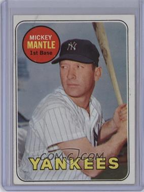 1969 Topps - [Base] #500.1 - Mickey Mantle (Last Name in Yellow) [GoodtoVG‑EX]