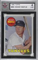 Mickey Mantle (Last Name in Yellow) [KSA 4 VGE]