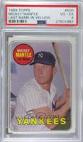 Mickey Mantle (Last Name in Yellow) [PSA 4 VG‑EX]