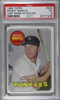 Mickey Mantle (Last Name in Yellow) [PSA5]