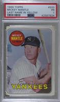 Mickey Mantle (Last Name in Yellow) [PSA 1 PR]