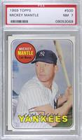 Mickey Mantle (Last Name in Yellow) [PSA7NM]