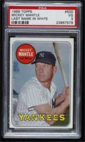 Mickey Mantle (Last Name in White) [PSA3VG]