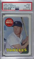 Mickey Mantle (Last Name in White) [PSA 8 NM‑MT (MC)]