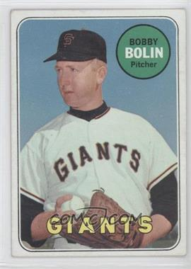 1969 Topps - [Base] #505.2 - Bobby Bolin (Last Name in White)
