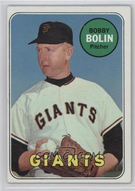 1969 Topps - [Base] #505.2 - Bobby Bolin (Last Name in White)