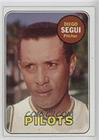 Diego Segui (First Name & Position In Yellow)