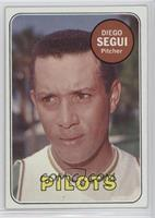 Diego Segui (First Name & Position In White)