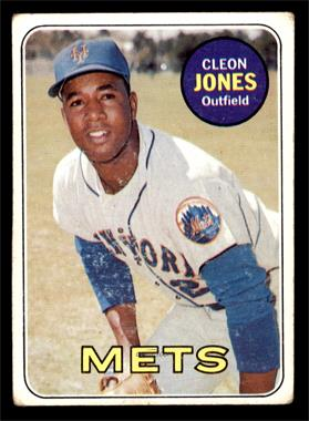 1969 Topps - [Base] #512 - Cleon Jones [GOOD]