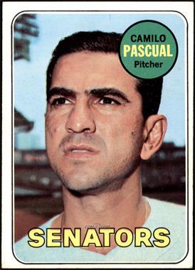 1969 Topps - [Base] #513 - Camilo Pascual [VG]