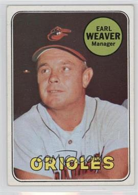 1969 Topps - [Base] #516 - Earl Weaver [Good to VG‑EX]