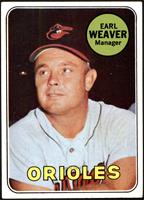 High # - Earl Weaver [VG EX+]