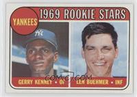 1969 Rookie Stars - Gerry Kenney, Len Boehmer
