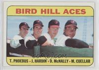 High # - Bird Hill Aces (Tom Phoebus, Jim Hardin, Dave McNally, Mike Cuellar)