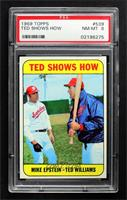 High # - Ted Shows How (Mike Epstein, Ted Williams) [PSA8NM‑M…