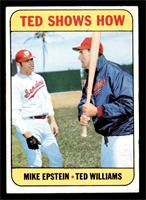 Mike Epstein, Ted Williams [EX]