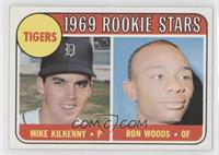 1969 Rookie Stars - Mike Kilkenny, Ron Woods