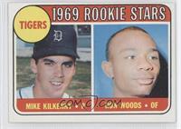 Tigers Rookie Stars (Mike Kilkenny, Ron Woods)