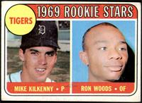 Tigers Rookie Stars (Mike Kilkenny, Ron Woods) [GOOD]