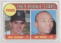 Tigers Rookie Stars (Mike Kilkenny, Ron Woods) [GoodtoVG‑EX]