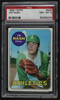 High # - Jim Nash [PSA8NM‑MT]