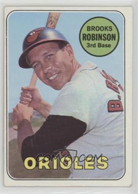 1969 Topps - [Base] #550 - Brooks Robinson
