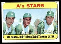 A's Stars (Sal Bando, Bert Campaneris, Danny Cater) [VGEX]