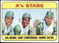 A's Stars (Sal Bando, Bert Campaneris, Danny Cater) [VGEX+]