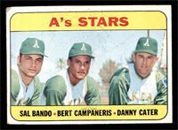 A's Stars (Sal Bando, Bert Campaneris, Danny Cater) [FAIR]